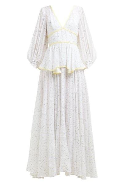 Staud Panarea floral maxi dress