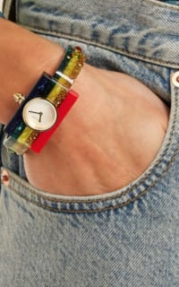 Gucci Striped Plexiglas watch 2 Preview Images