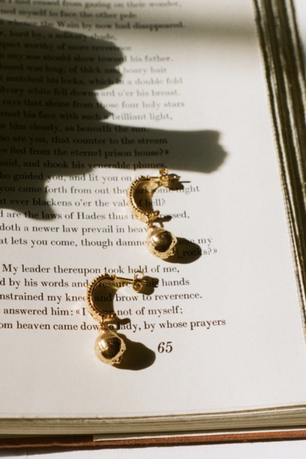 Image 3 of Alighieri fragments of the shore earring