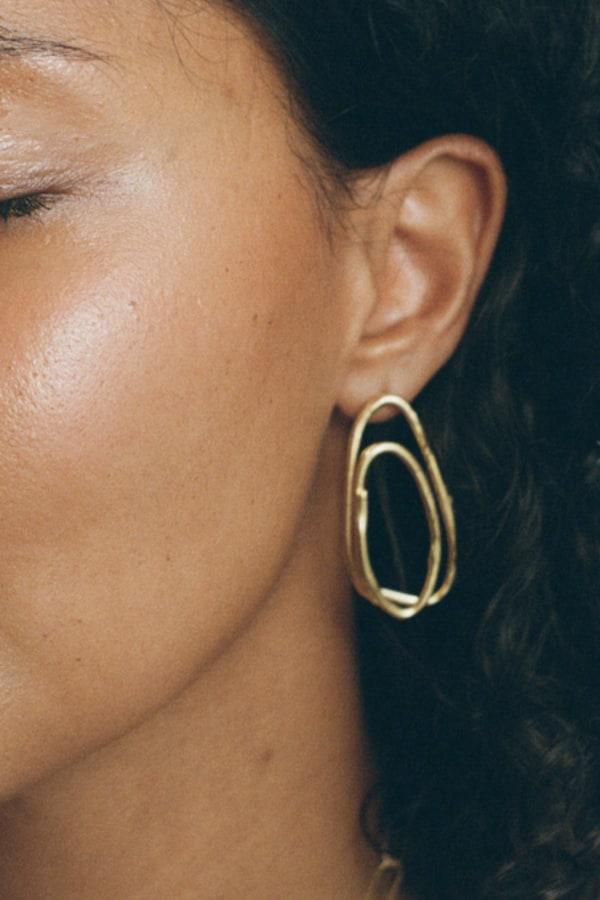 Image 2 of Alighieri rhymes of love earrings