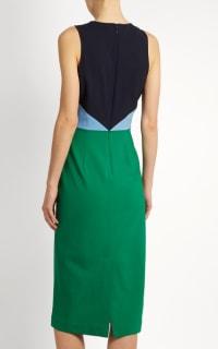 Diane Von Furstenberg Colour block midi dress 3 Preview Images