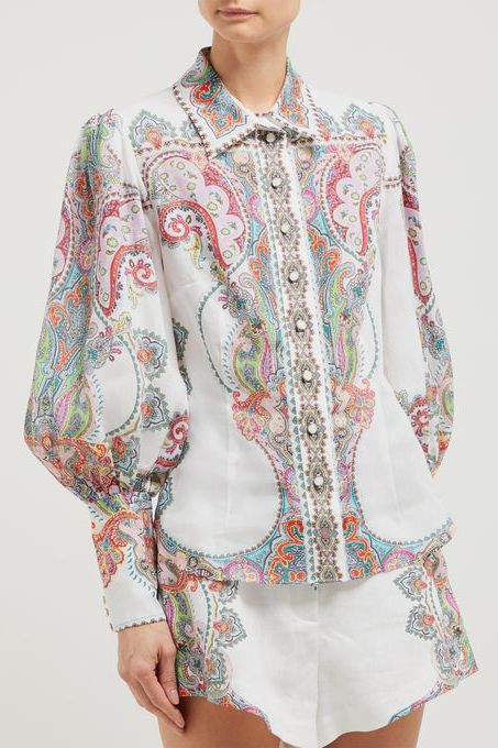 Zimmermann Paisley shirt  4 Preview Images