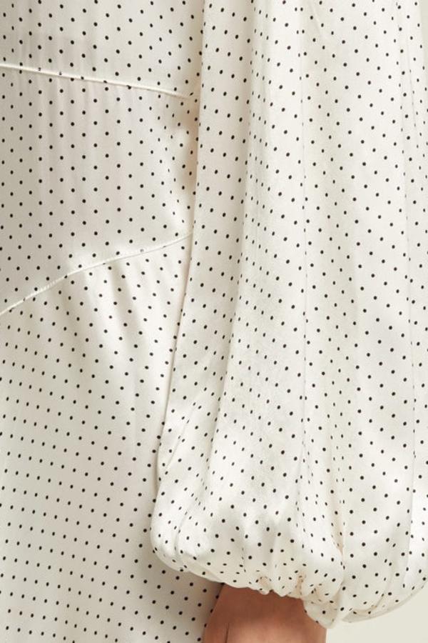 Ganni Cameron polka-dot dress 7