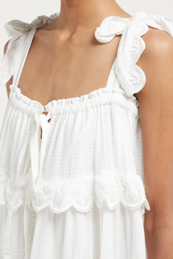 Innika Choo Iva tiered dress 2