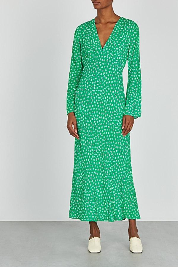 Image 2 of Rixo arielle floral maxi dress