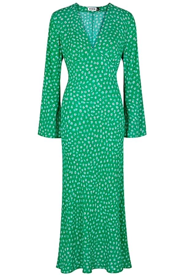 Image 1 of Rixo arielle floral maxi dress