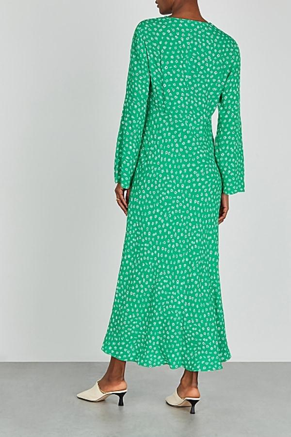 Image 3 of Rixo arielle floral maxi dress