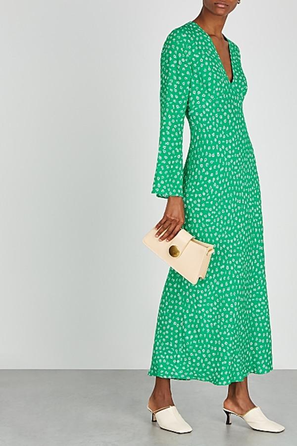 Image 4 of Rixo arielle floral maxi dress