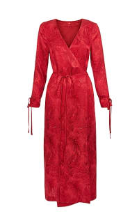 Kitri Odile Red Wrap Dress Preview Images