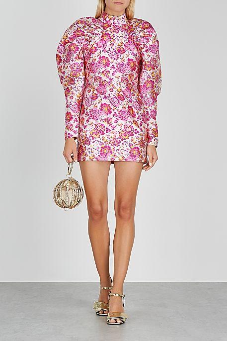 Rotate Birger Christensen Pink Dress 2 Preview Images