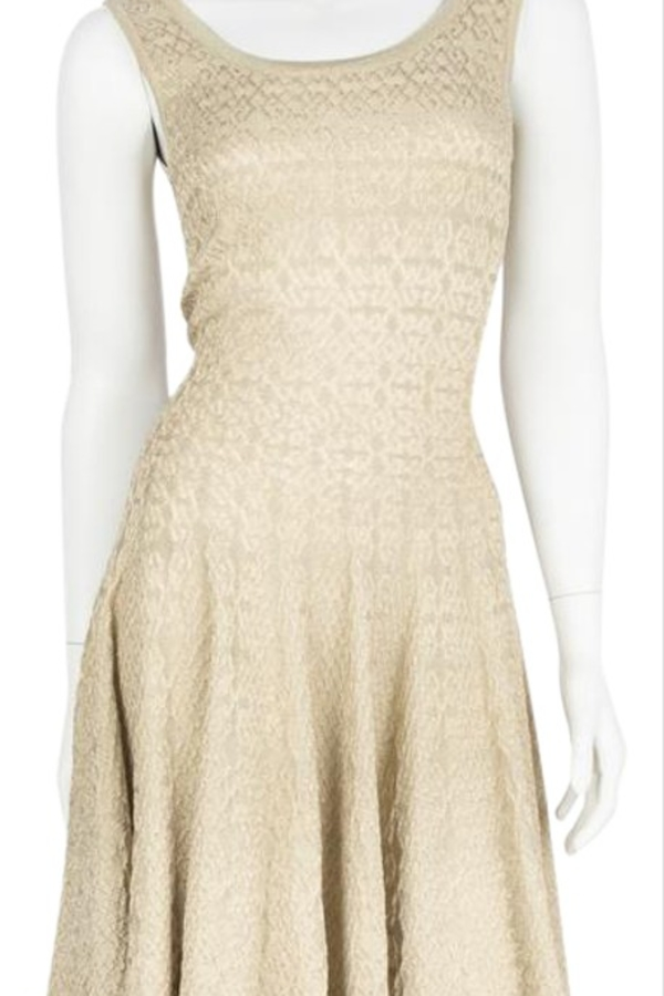 Alaïa Gold Gold-Tone Mini Dress 2