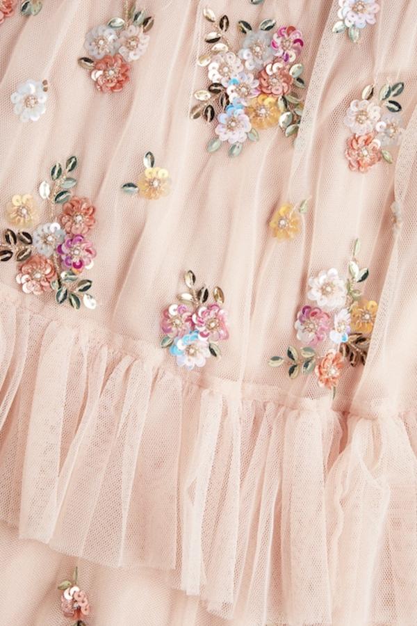 Needle & Thread Lustre Ruffle Gown 3