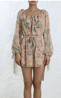 Zimmermann Tempest Gathered Playsuit 4 Preview Images