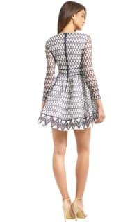Maje Royan Lace Dress  3 Preview Images