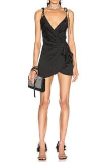 The Attico Zebra Mini Dress 2 Preview Images