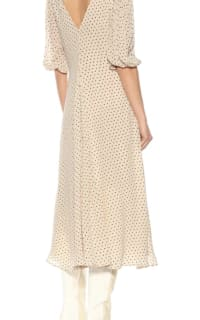 GANNI Crepe Polka Dot Dress 3 Preview Images