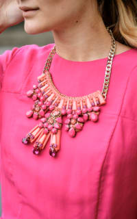 Matthew Williamson Clustered Jewel necklace 2 Preview Images