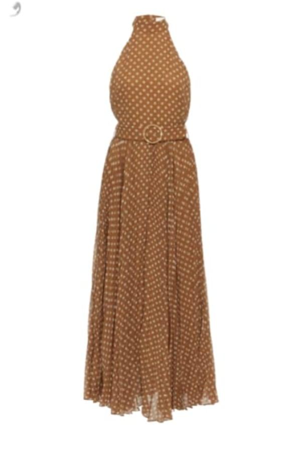 Image 1 of Zimmermann polka dot midi dress