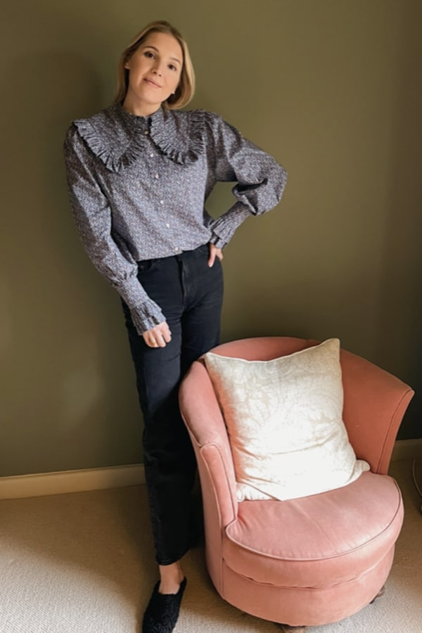Sigrid Maria Sigrid Blouse -Pepper Navy Red 0 Preview Images