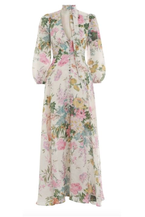 Zimmermann Heather Plunge Long Dress Preview Images