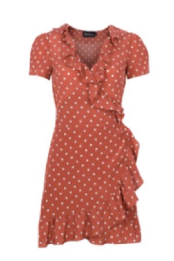 Realisation Par Valentina Dress - Rust Spot 2