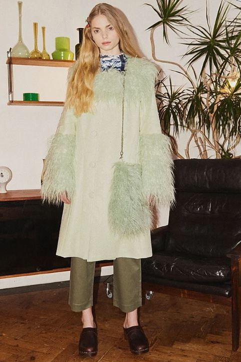 House of Sunny Pistachio Penny Coat 3 Preview Images