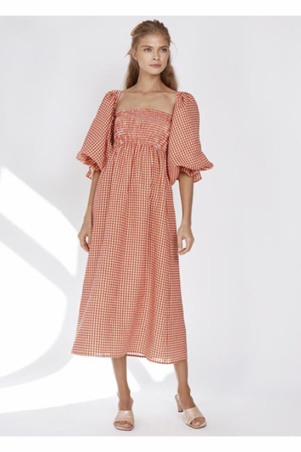 Sleeper Atlanta Linen Dress 7
