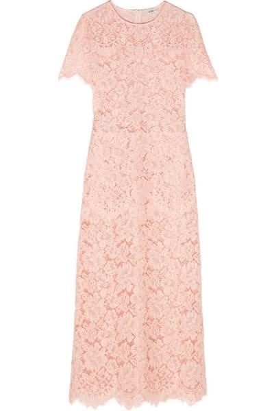 Ganni Duval corded lace midi dress 3