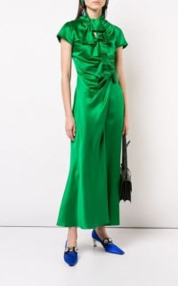 Saloni Green Kelly Dress 4 Preview Images