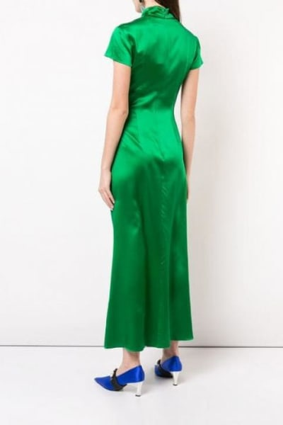 Saloni Green Kelly Dress 2