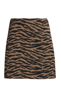 Claudie Pierlot Tiger Mini Skirt Preview Images