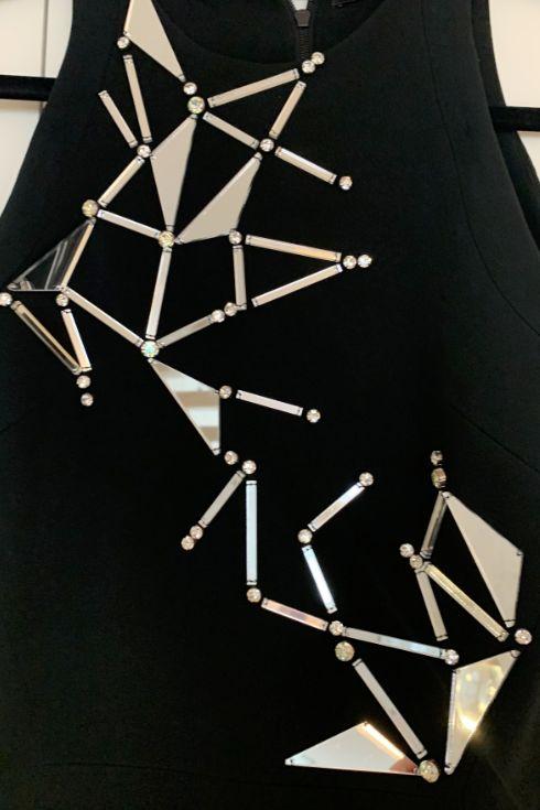 David Koma Mirror Embellished Dress 2 Preview Images