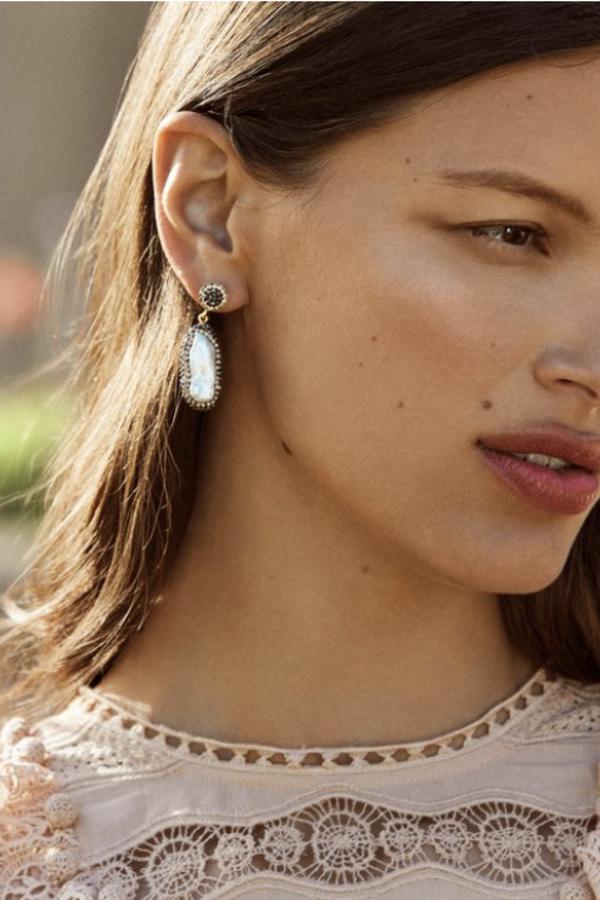 SORU Baroque Pearl Gold Earrings 3