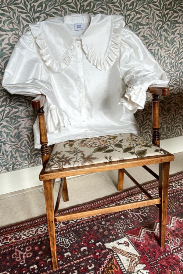Sigrid Maria Sigrid Blouse - Raw Silk 5