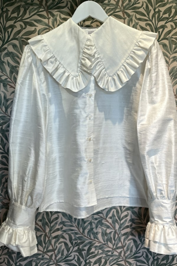 Sigrid Maria Sigrid Blouse - Raw Silk 1 Preview Images