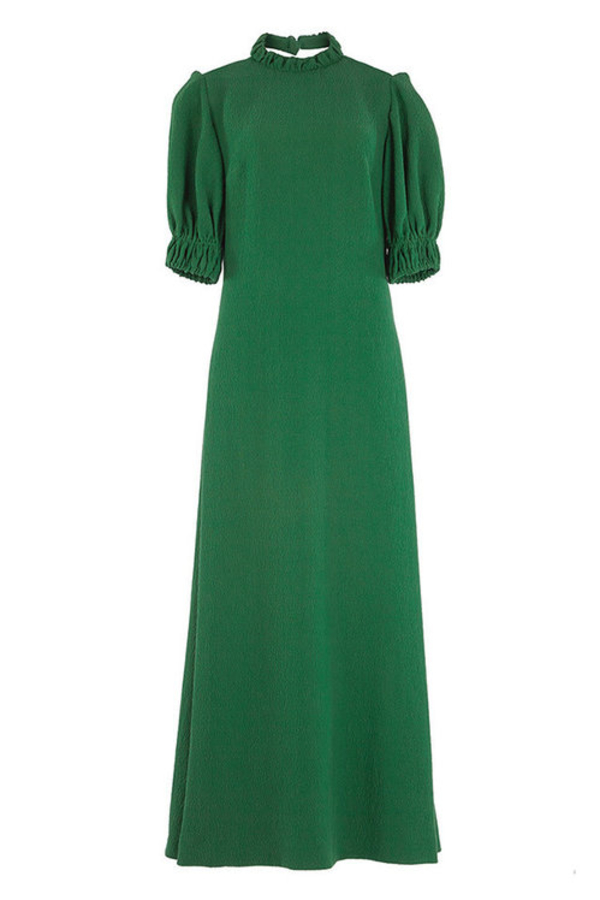 Emilia Wickstead Mimi cloqué maxi dress