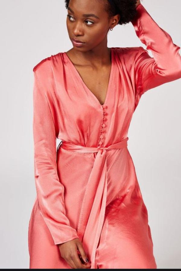 Ghost Meryl Wrap dress 2