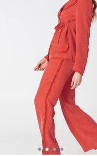 Stina Goya Red Rise Co-ord  4 Preview Images