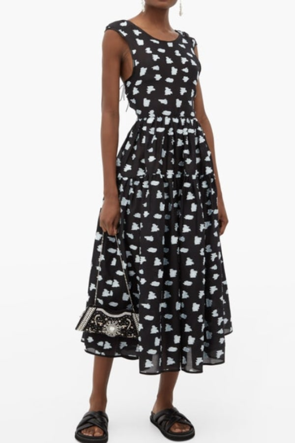 Image 2 of Cecilie Bahnsen ruth coupe midi dress