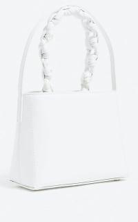 Jacquemus Le Sac Noeud leather handbag 3 Preview Images