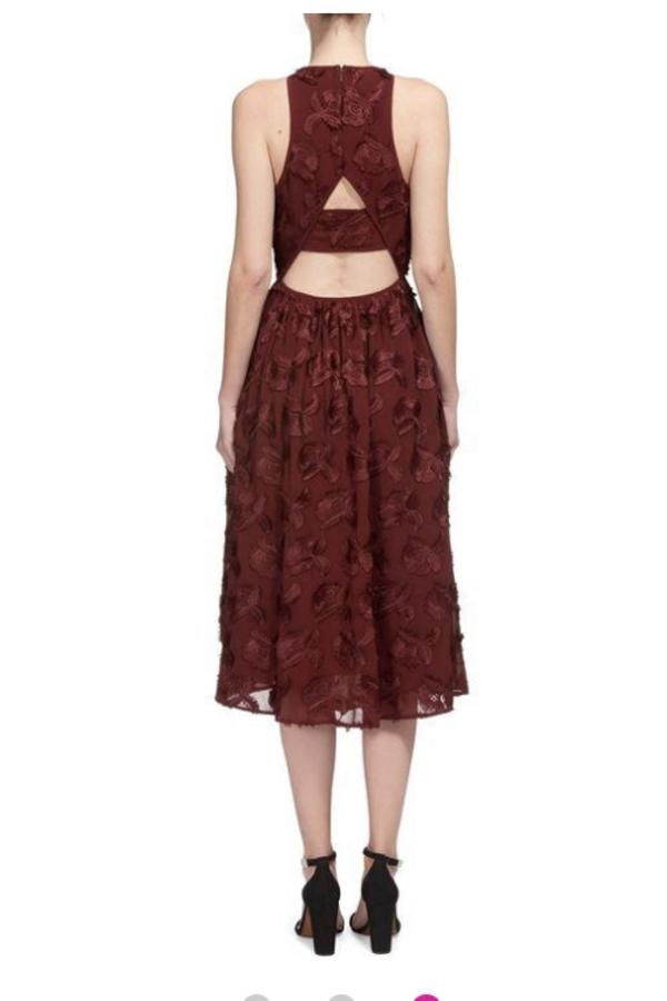 Whistles Appliqué Textured Dress 2