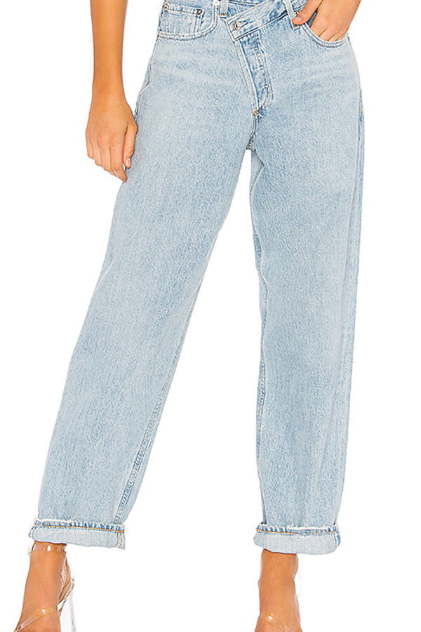 AGOLDE Criss Cross Upsized Jean