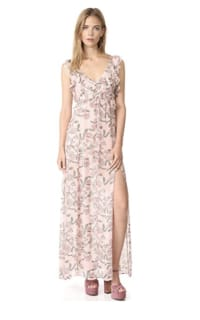 For Love and Lemons Bee Balm Floral Maxi Dress Preview Images