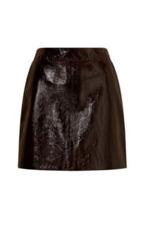 Jigsaw  PATENT LEATHER MINI SKIRT Preview Images