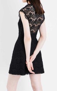Claudie Pierlot Reset V-neck lace dress 2 Preview Images