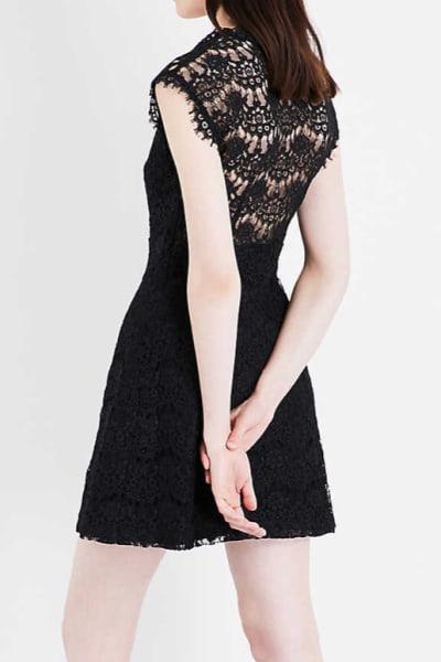 Claudie Pierlot Reset V-neck lace dress 2