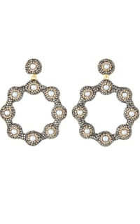 SORU Baroque 18ct yellow-gold earrings Preview Images