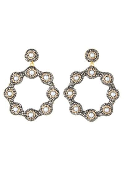 SORU Baroque 18ct yellow-gold earrings