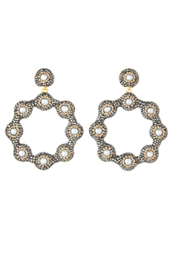 SORU Baroque 18ct yellow-gold earrings