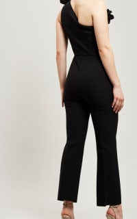 MSGM One Shoulder Ruffle Jumpsuit  2 Preview Images